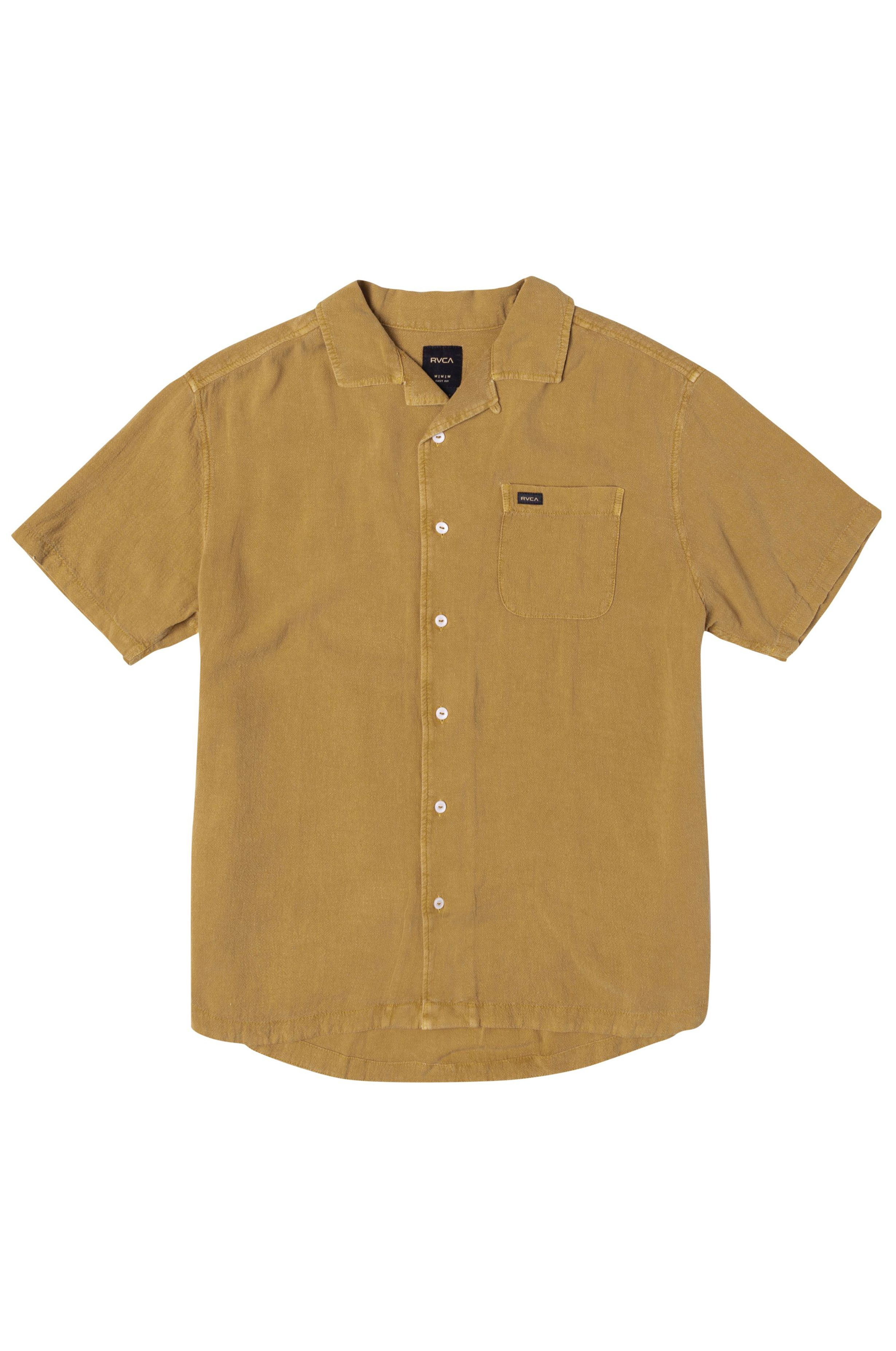 RVCA Shirt BEAT SS Goldenrod