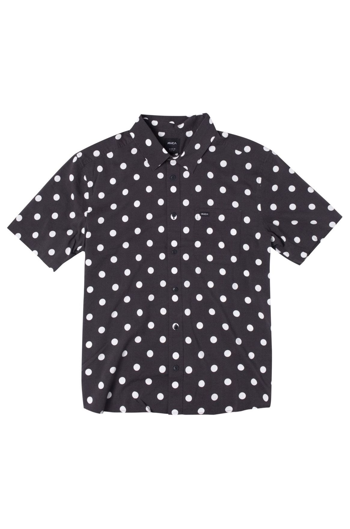 Camisa RVCA WHITWORTH SS Black
