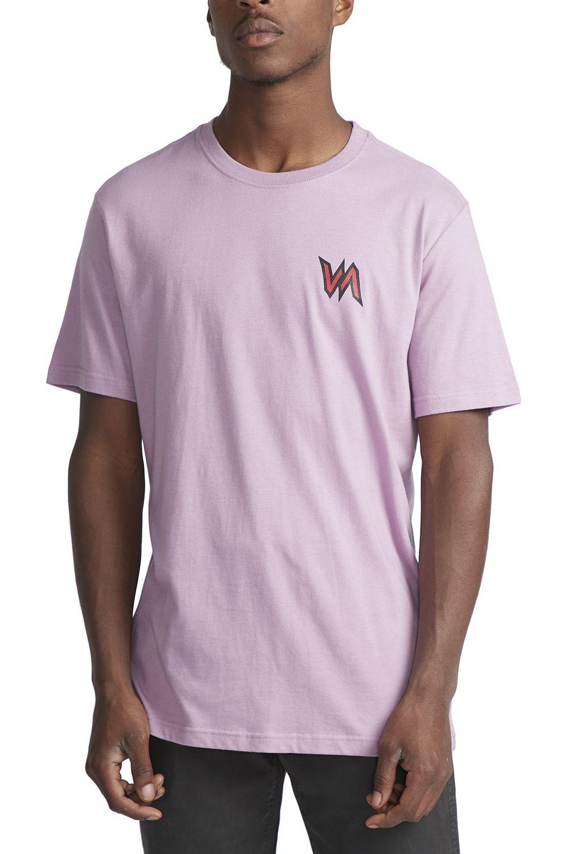 T-Shirt RVCA SPECIMEN Lavender
