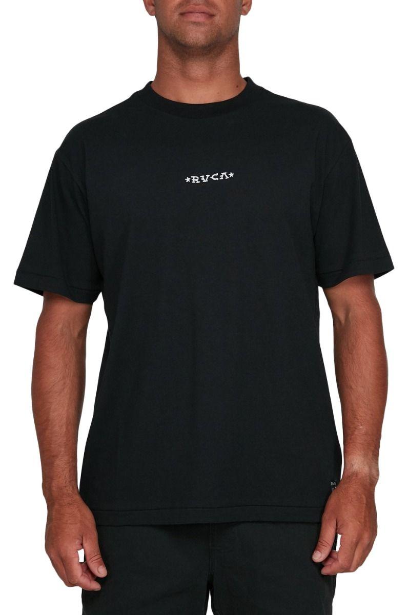 T-Shirt RVCA KRAK DAGGERS SS TEE BERT KRAK Black
