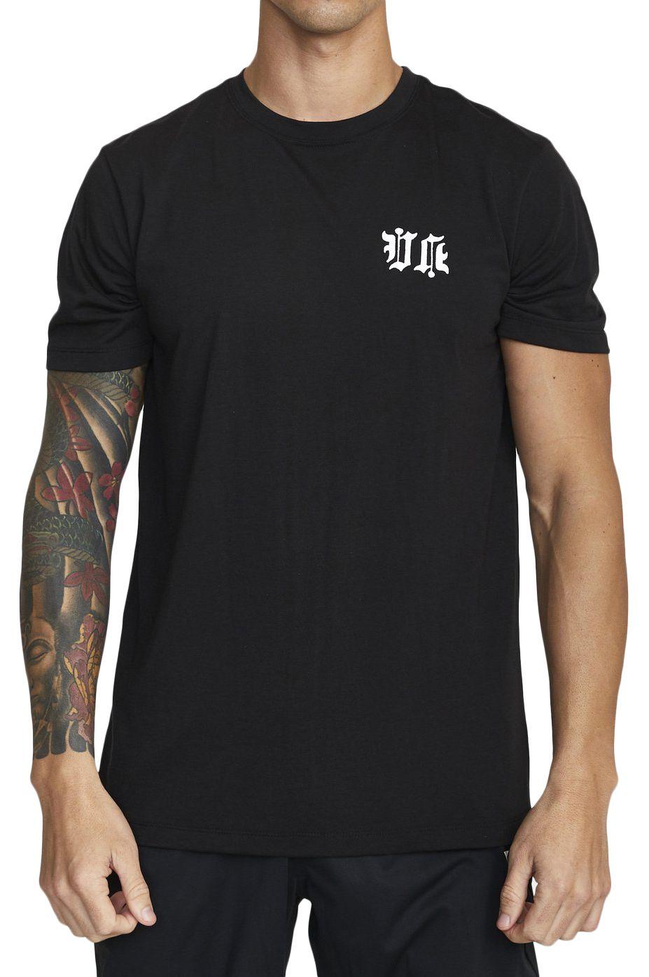 T-Shirt RVCA TIGER KRAK SS BERT KRAK Black