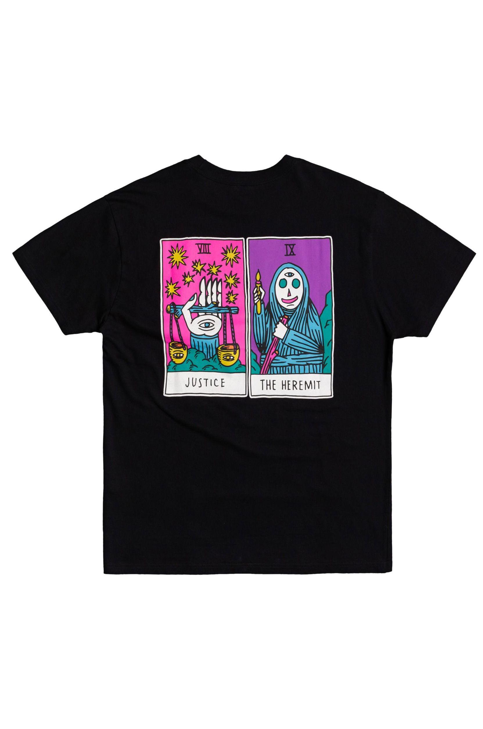 T-Shirt RVCA SB TAROT SS Black