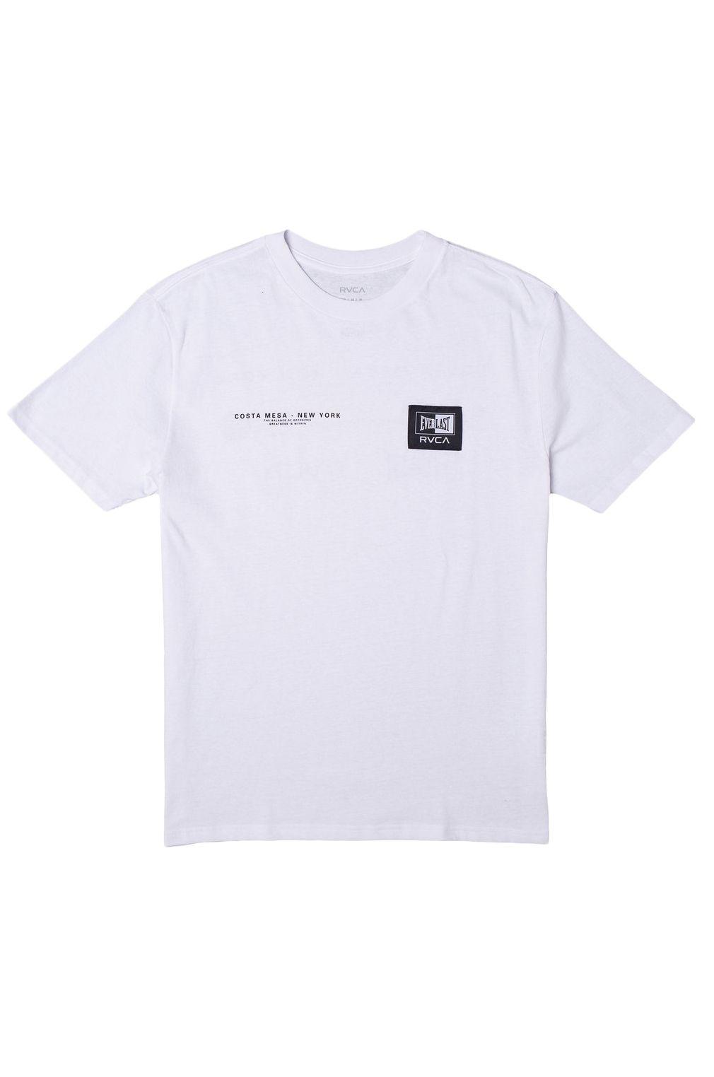 RVCA T-Shirt EVERLAST CM NY White