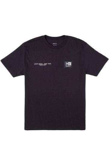 RVCA T-Shirt EVERLAST CM NY Black