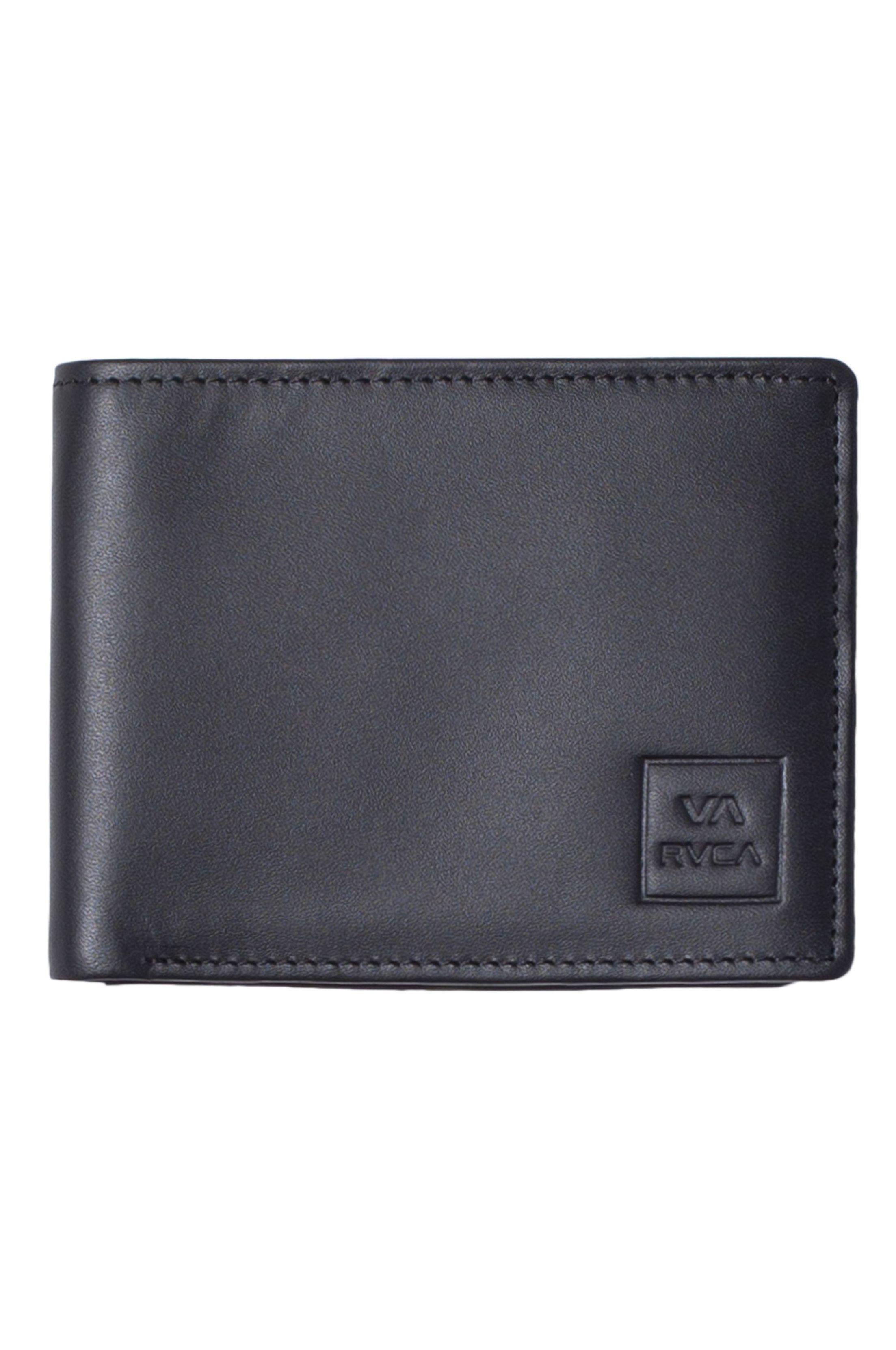 RVCA Wallet CEDAR BIFOLD WALLET Black