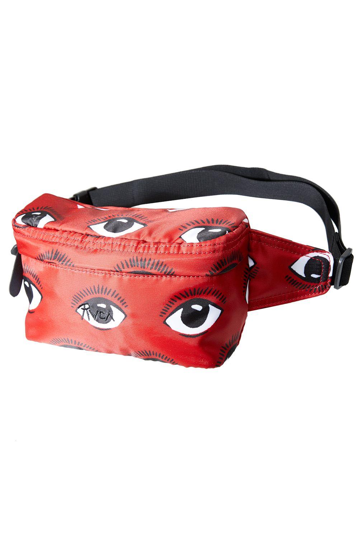 Bolsa Cintura RVCA RECRUITED BUM BAG Poppy Red