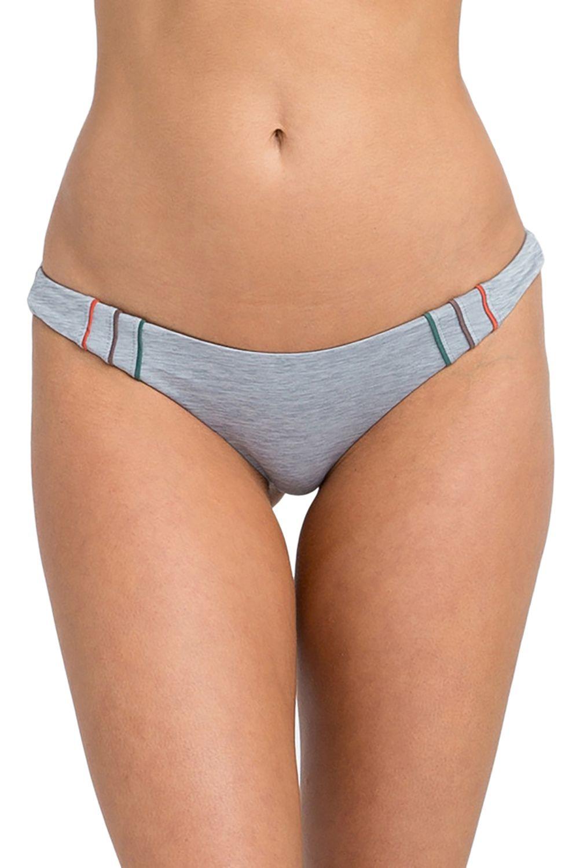 Bikini Tanga RVCA PIPELINE CHEEKY Heather Grey