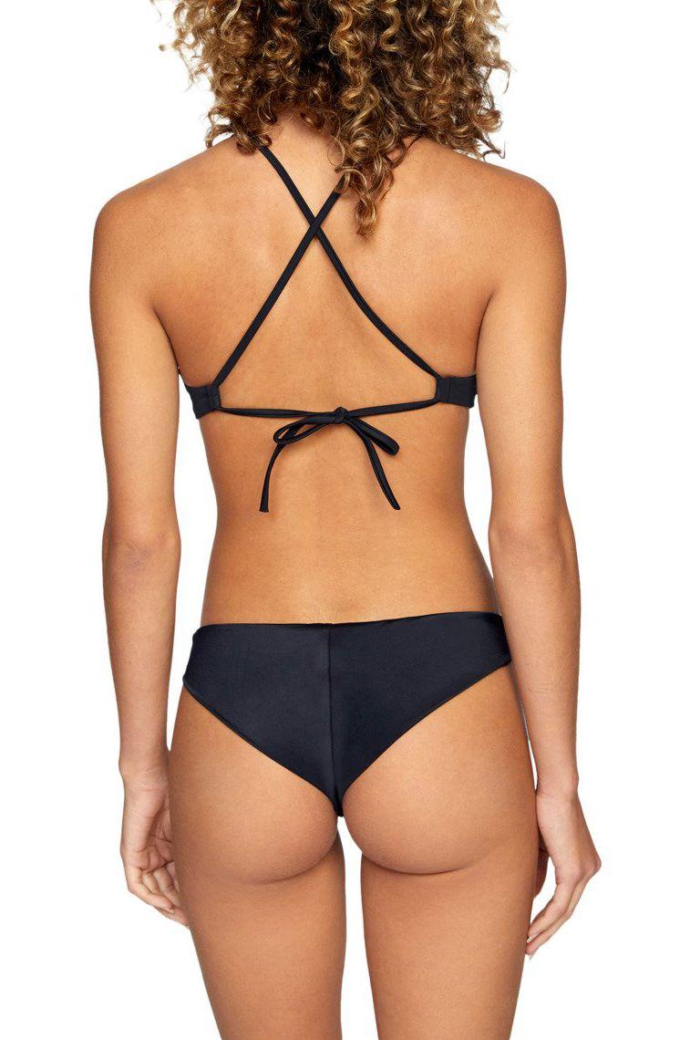 Bikini Top RVCA SOLID CROSSBACK Black