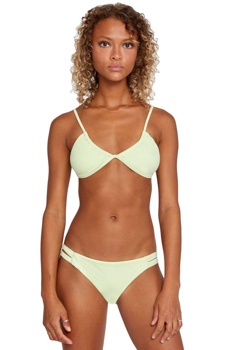 RVCA Bikini Bottom SOLID FULL Seagrass