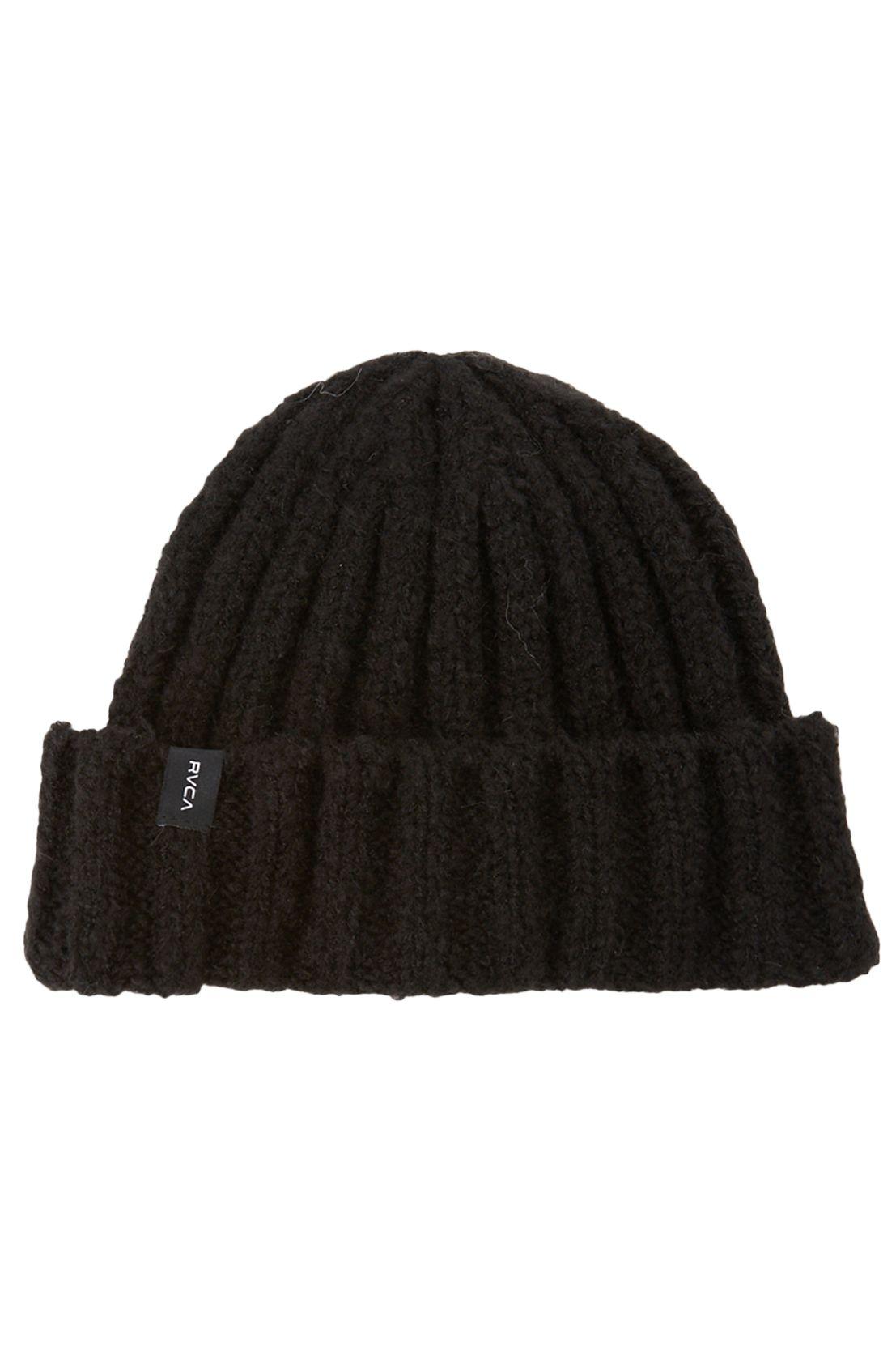 RVCA Beanie WARM EYES BEANIE True Black