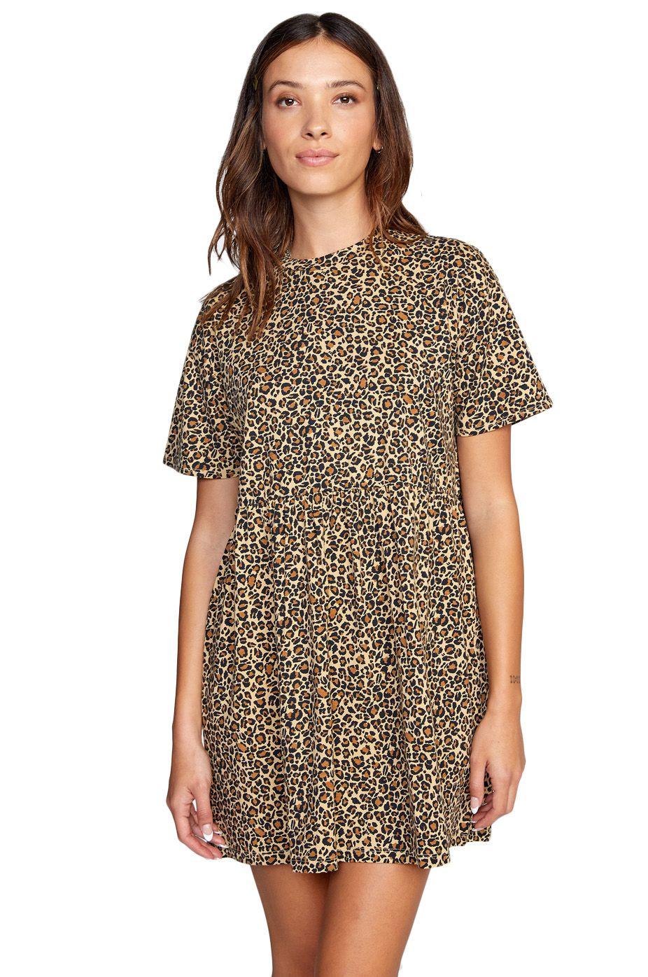 RVCA Dress CITY VIBES DRESS Khaki
