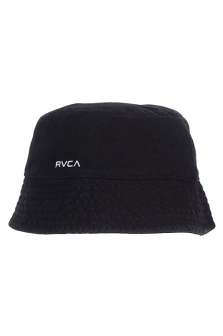 Chapeu RVCA DROP IN THE BUCKET Washed Black