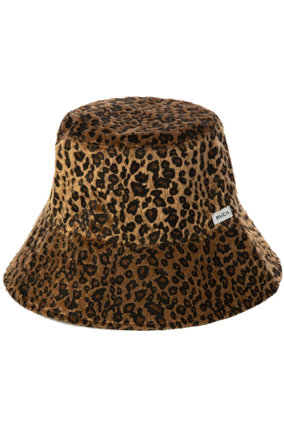 Chapeu RVCA LEO FAUX FUR BUCKET Leopard