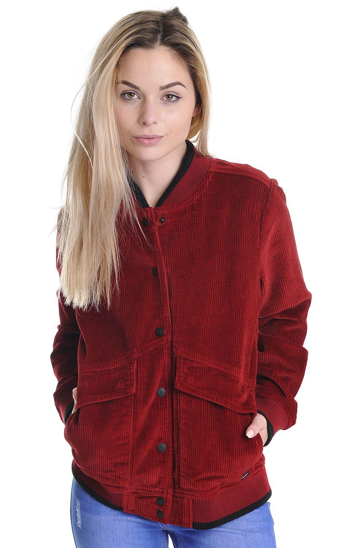 Blusão RVCA FRESHMAN Burnt Red