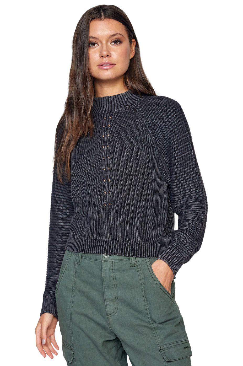 RVCA Sweater NEW WAVE SWEATER True Black