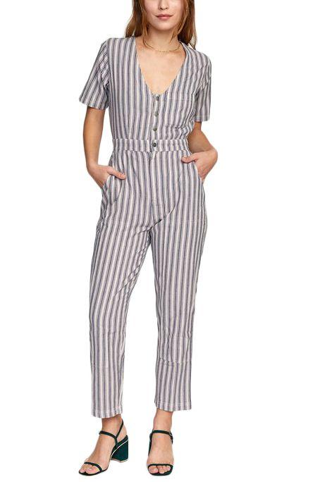 RVCA Jumpsuit RANGE Grey Violet