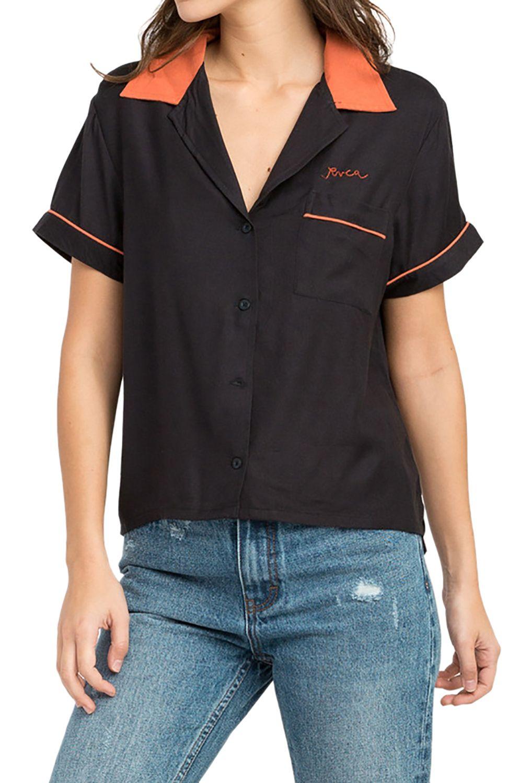 Camisa RVCA STRIKE Black