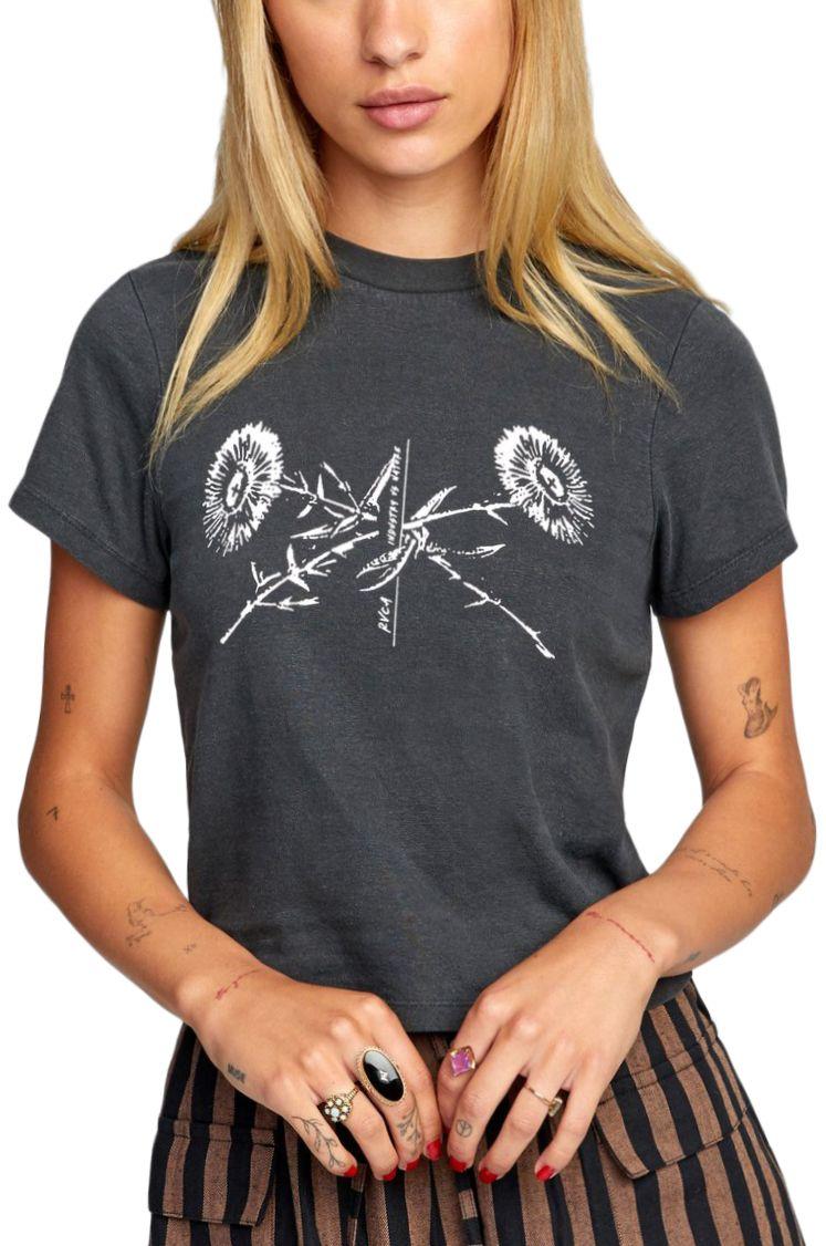 RVCA T-Shirt BOOKPRESS SS Black