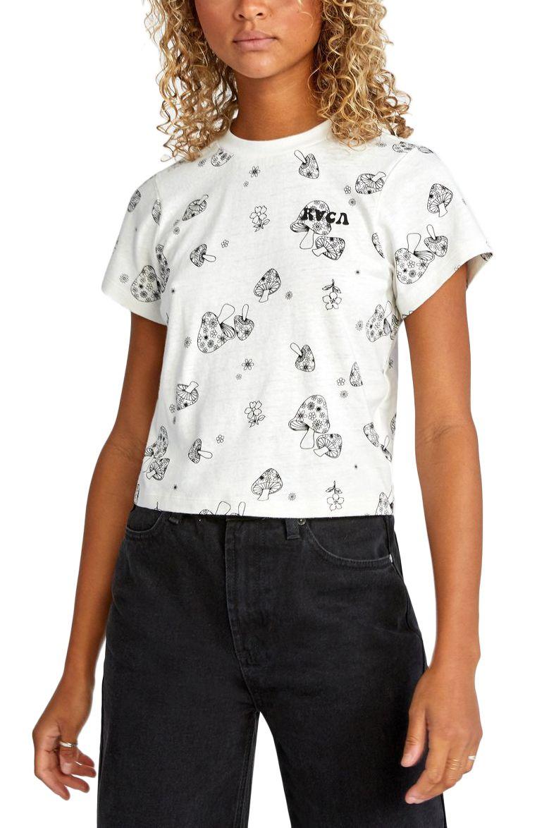 RVCA T-Shirt FUN TIMES SS Vintage White