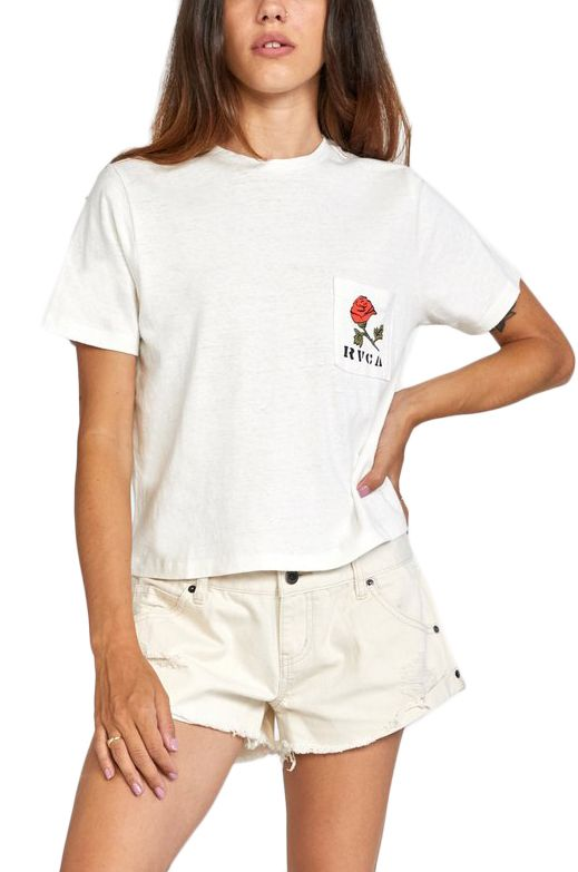 RVCA T-Shirt FOREVER SS Vintage White