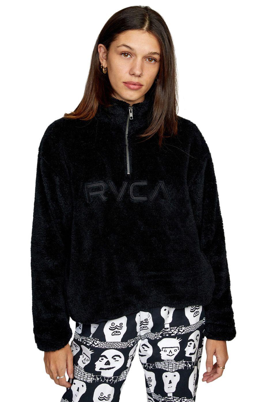RVCA Sweat Warmer RELAXED RVCA FLEECE True Black