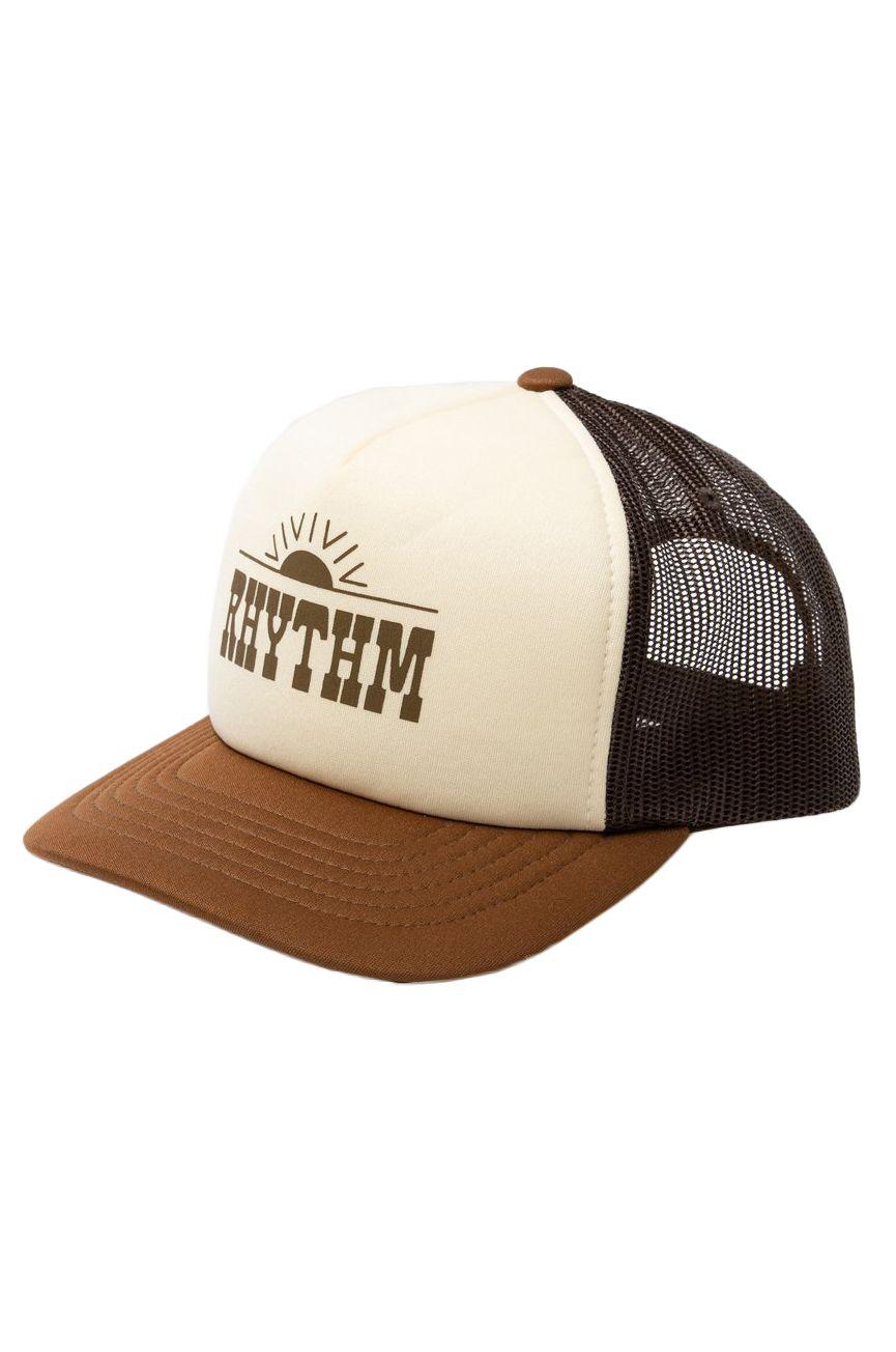 Bone Rhythm WESTERN TRUCKER CAP Almond