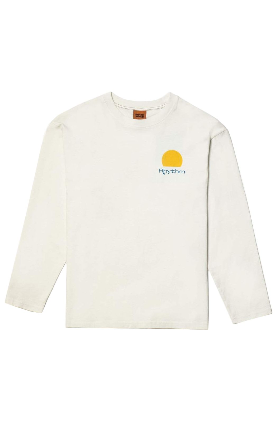 Rhythm L-Sleeve ECLIPSE LS VINTAGE T-SHIRT Vintage White