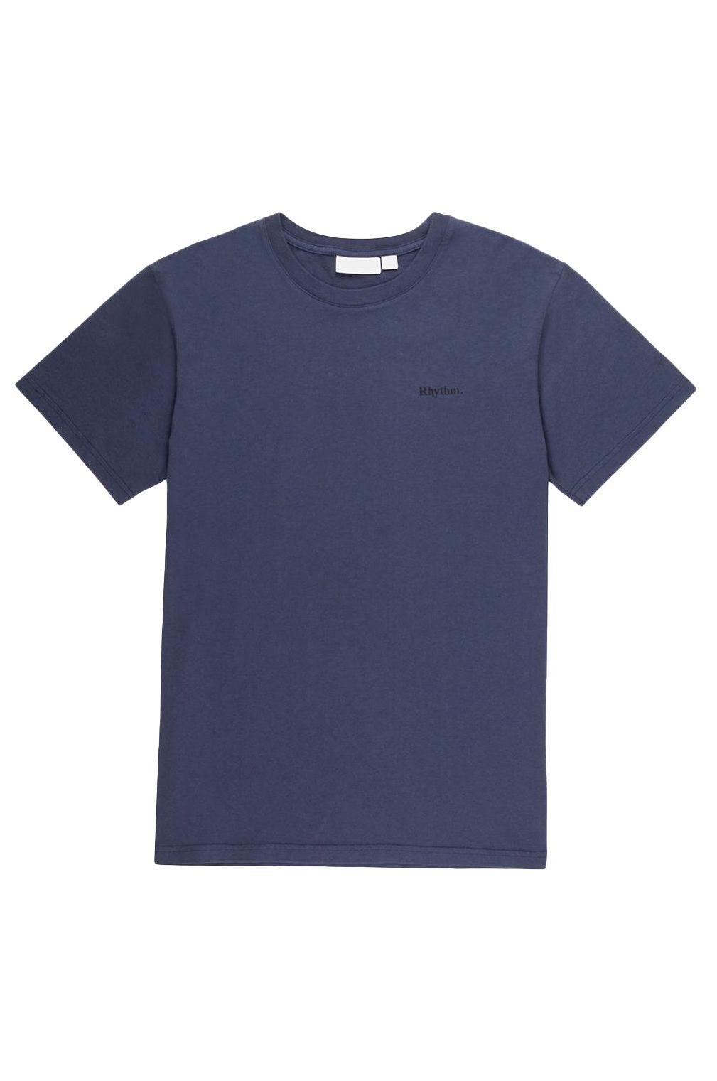 Rhythm T-Shirt ESSENTIAL LOGO T-SHIRT Navy