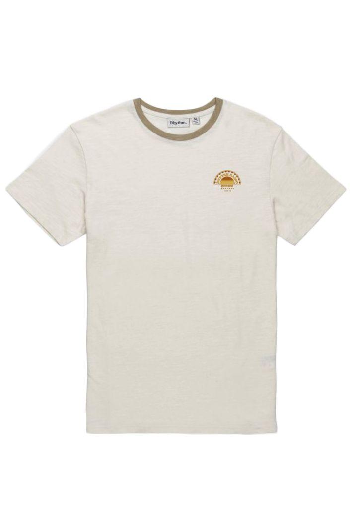 Rhythm T-Shirt ESSENT SUNDOWN T-SHIRT White