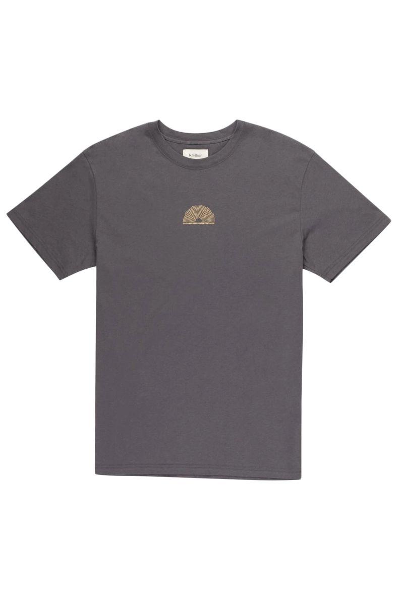 Rhythm T-Shirt TRACK TEE . Vintage Black
