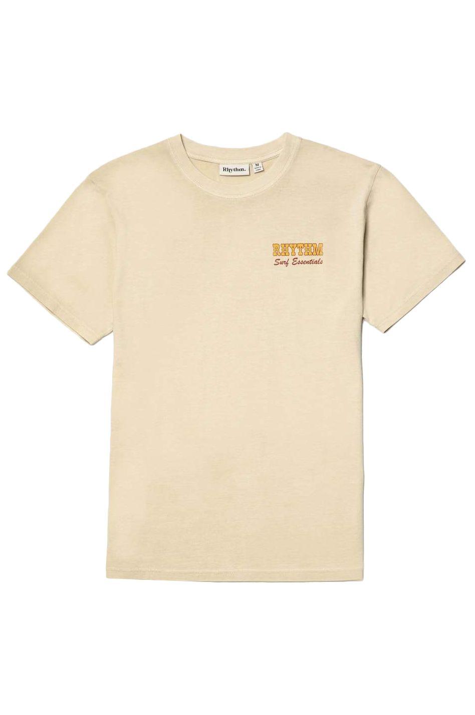Rhythm T-Shirt OCEANSIDE SS T-SHIRT Cream