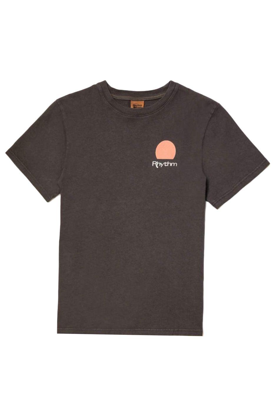 Rhythm T-Shirt ECLIPSE SS VINTAGE T-SHIRT Vintage Black