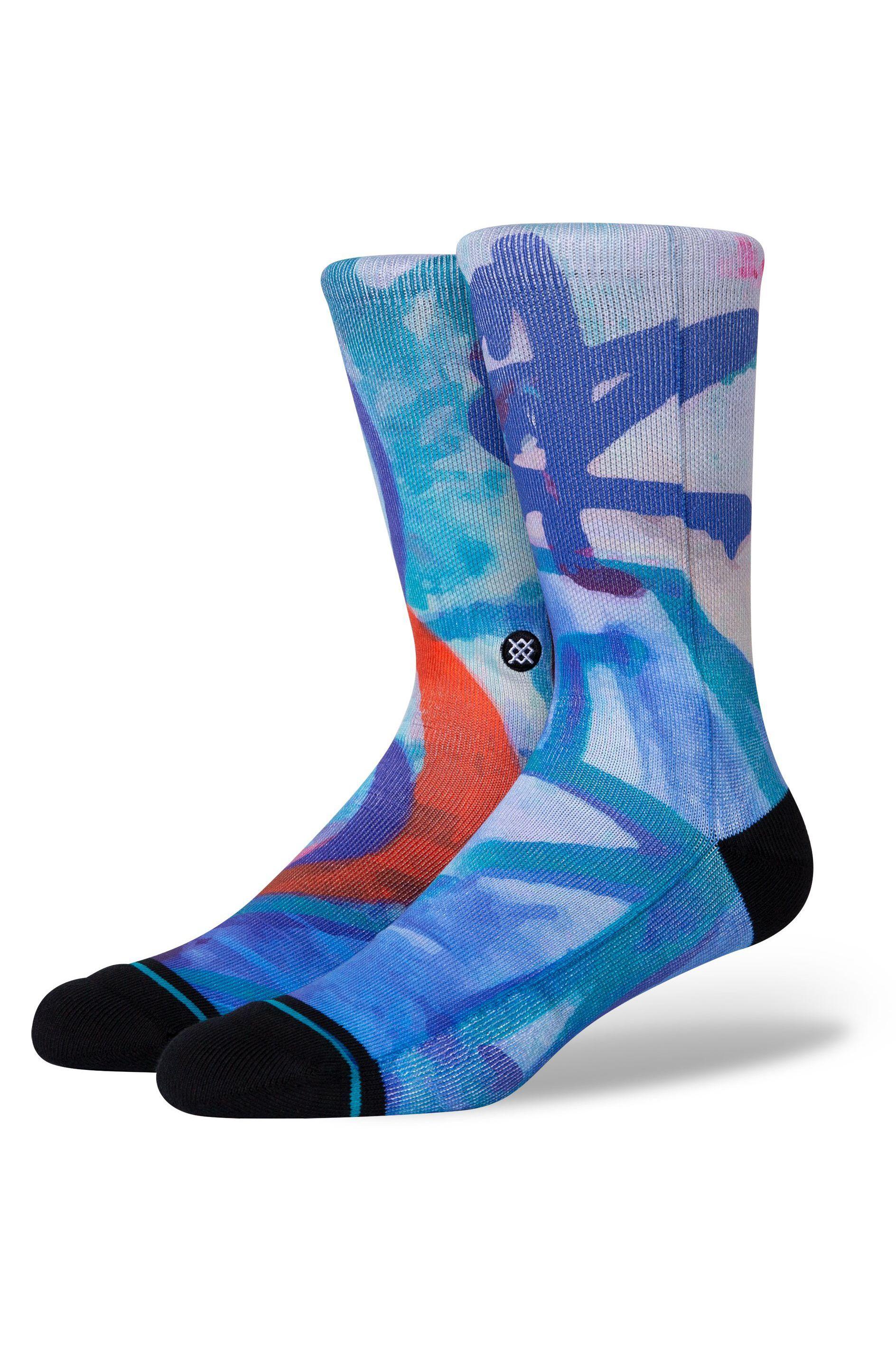 Stance Socks STASH WALL Blue