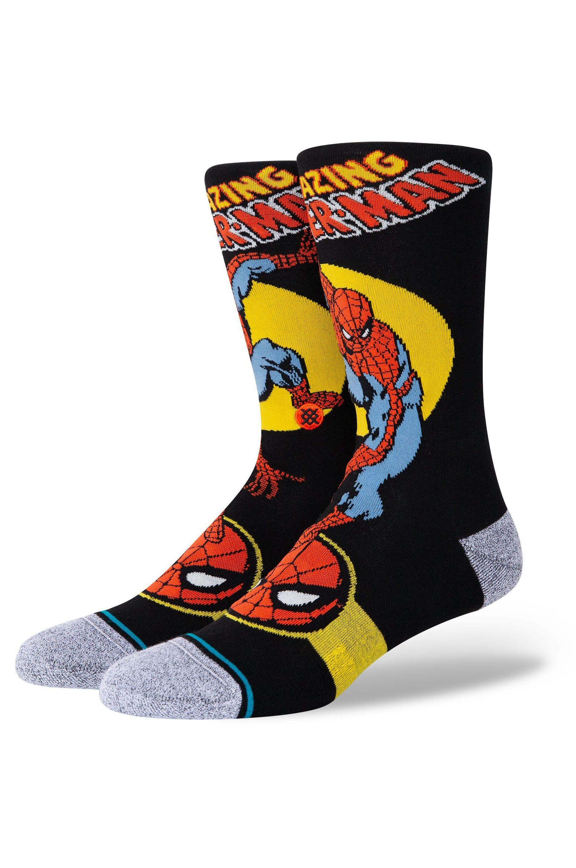 Stance Socks SPIDER MAN MARQUEE Black