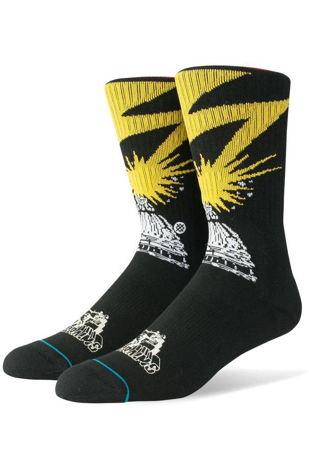 Meias Stance BAD BRAINS Black