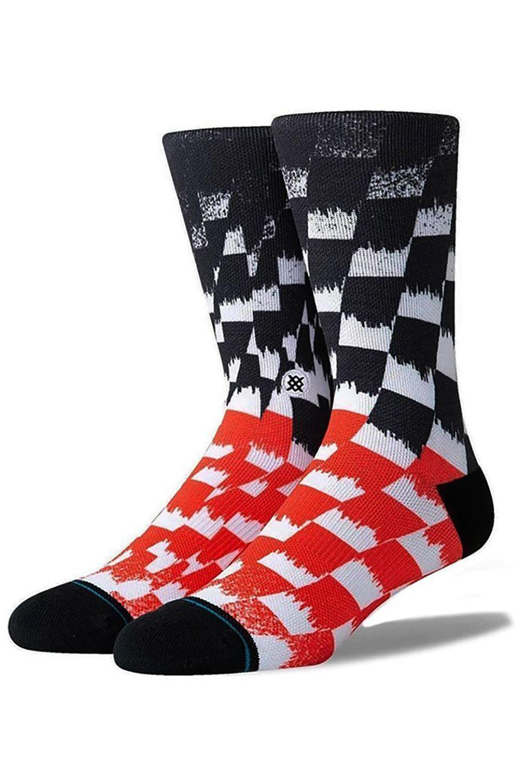 Stance Socks BLUR CHECK Black