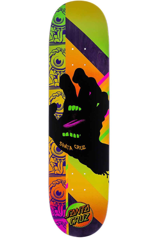 "Santa Cruz Skate Board 8"" X 31.6"" AFTERGLOW HAND VX Multi"