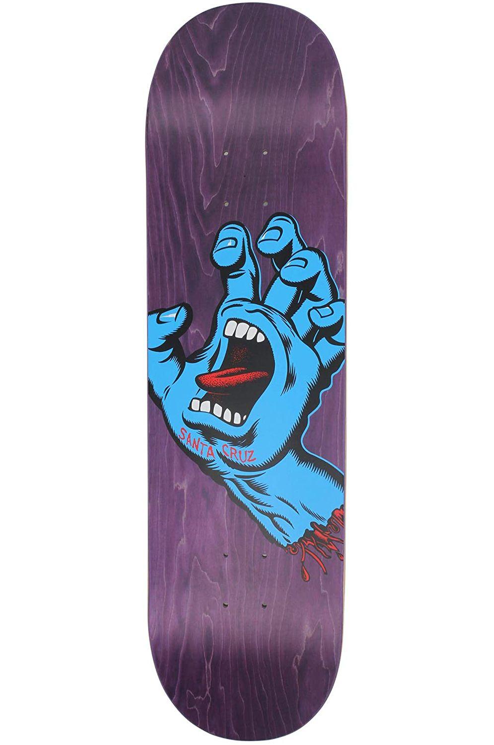 "Santa Cruz Skate Board 8.375"" X 32"" SCREAMING HAND Assorted"