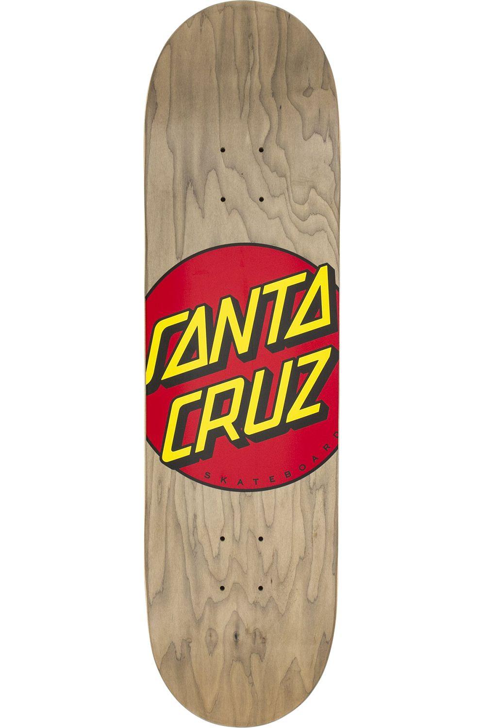 "Santa Cruz Skate Board 8.375"" X 31.83"" CLASSIC DOT Assorted"