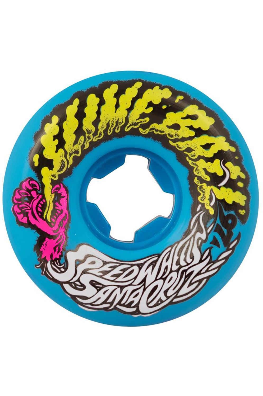 Santa Cruz Skate Wheels 53MM SLIME BALLS VOMIT MINI Blue