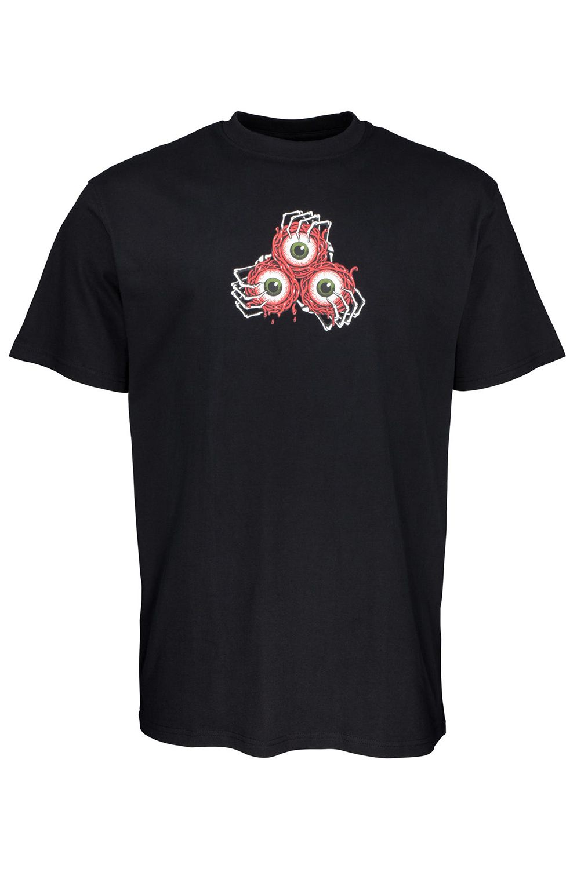 Santa Cruz T-Shirt VEIN EYES Black