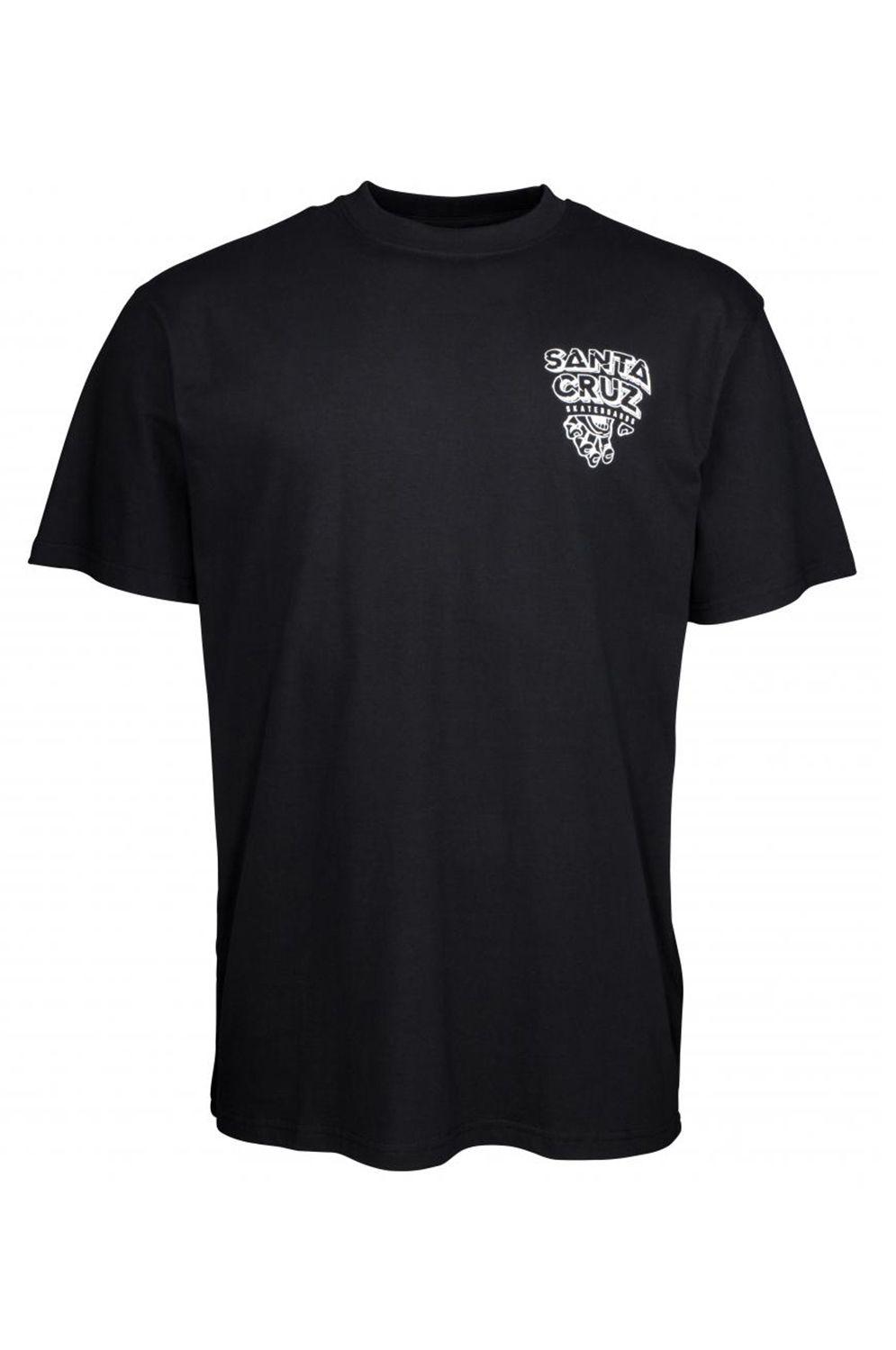 Santa Cruz T-Shirt INHERIT Black