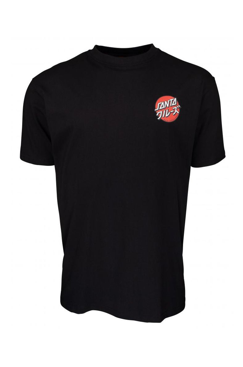 T-Shirt Santa Cruz MIXED UP DOT Black