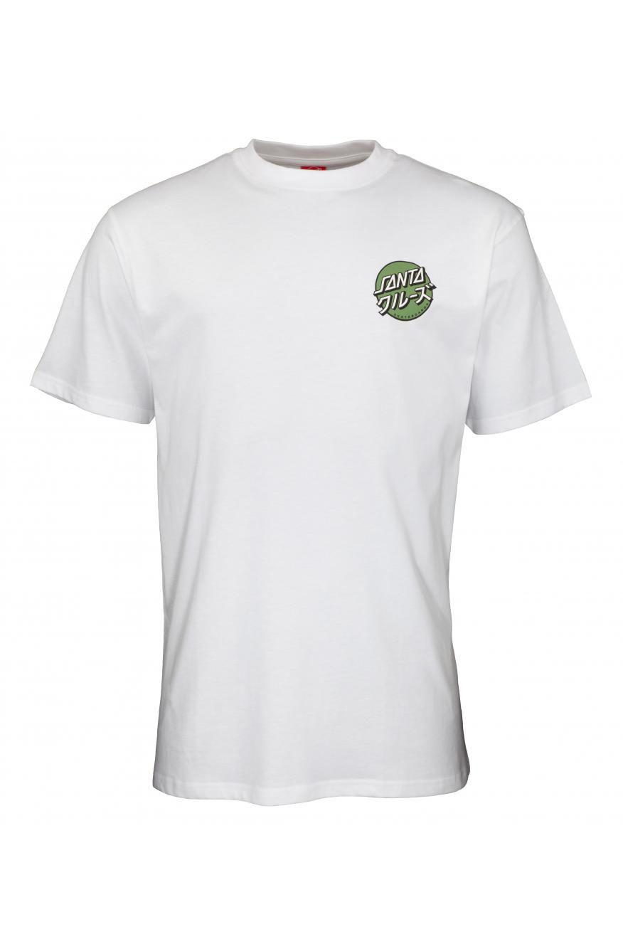 T-Shirt Santa Cruz MIXED UP DOT White