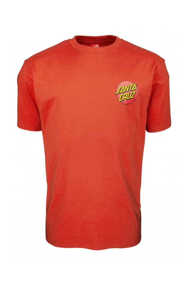 T-Shirt Santa Cruz CLASSIC DOT CHEST Ketchup