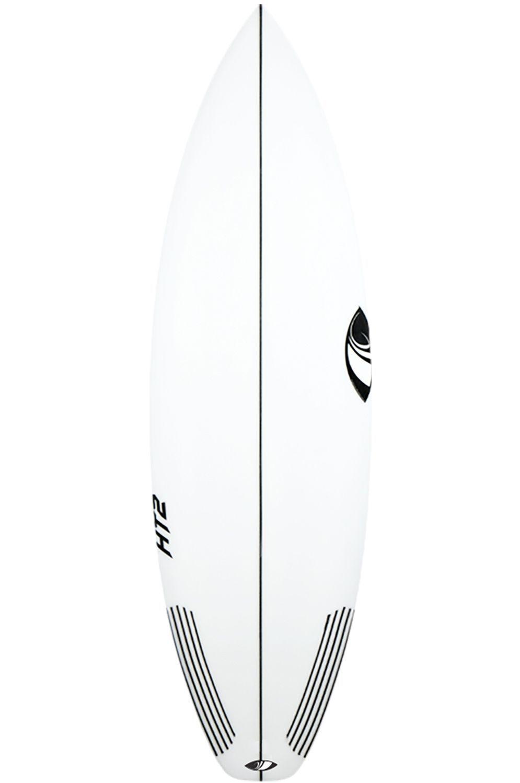 Sharpeye Surf Board 5'11 HT2 Squash Tail - White FCS II 5ft11