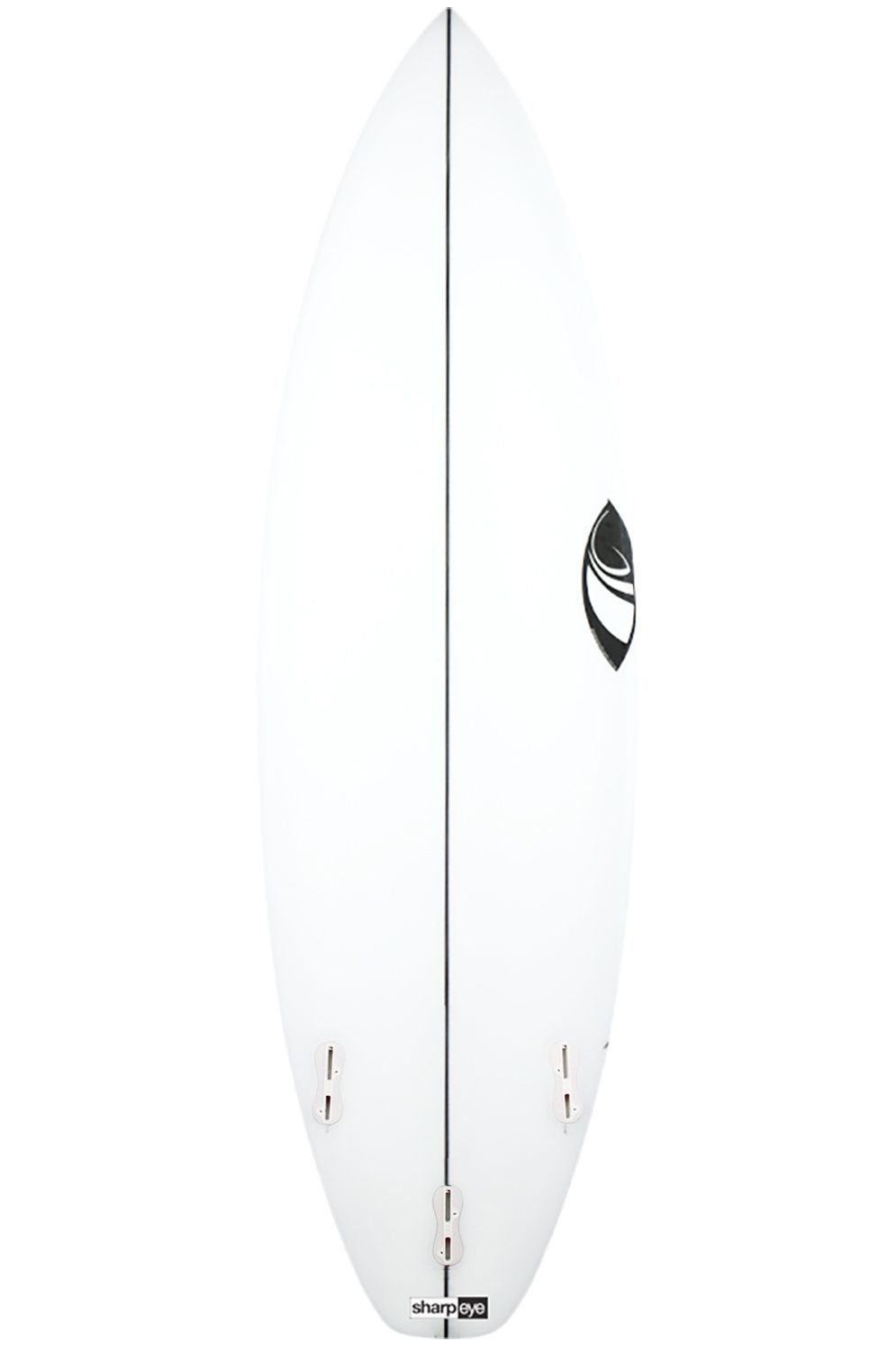Prancha Surf Sharpeye STORMS 5'11 Squash Tail - White FCS II 5ft11