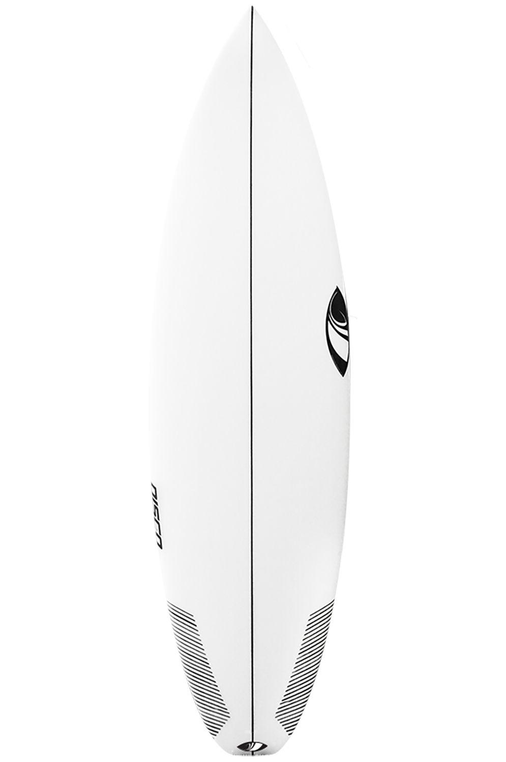 Sharpeye Surf Board 5'10 DISCO Squash Tail - White FCS II 5ft10