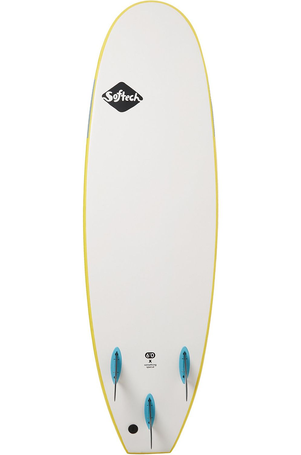 Prancha Surf Softech HANDSHAPED FB YELLOW 6'0 Squash Tail - Color FCS 6ft0