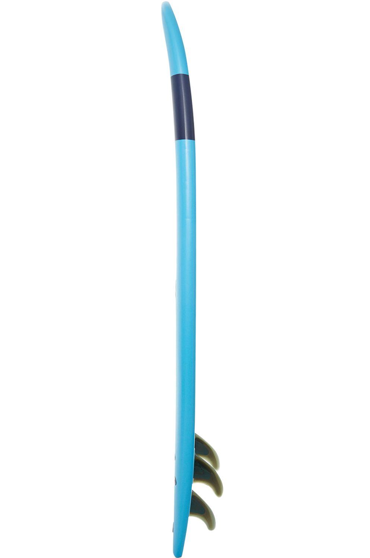 Prancha Surf Softech HANDSHAPED FB 7ft6 BLUE Squash Tail - Color FCS 7ft6